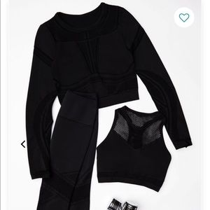 NWT Fabletics 3-Piece Circuit Outfit